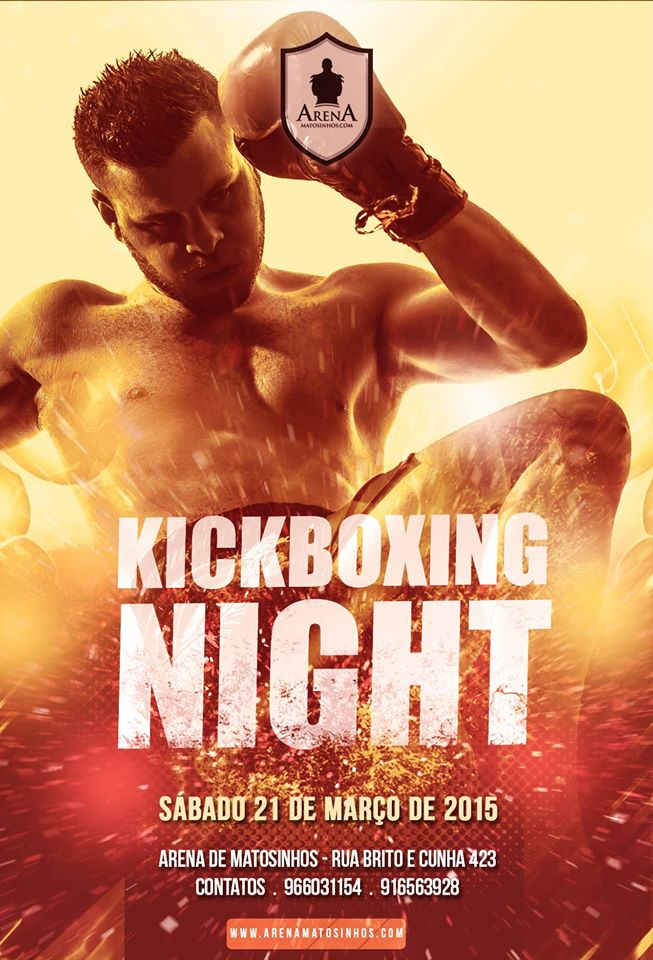kickboxing night 21-3-15