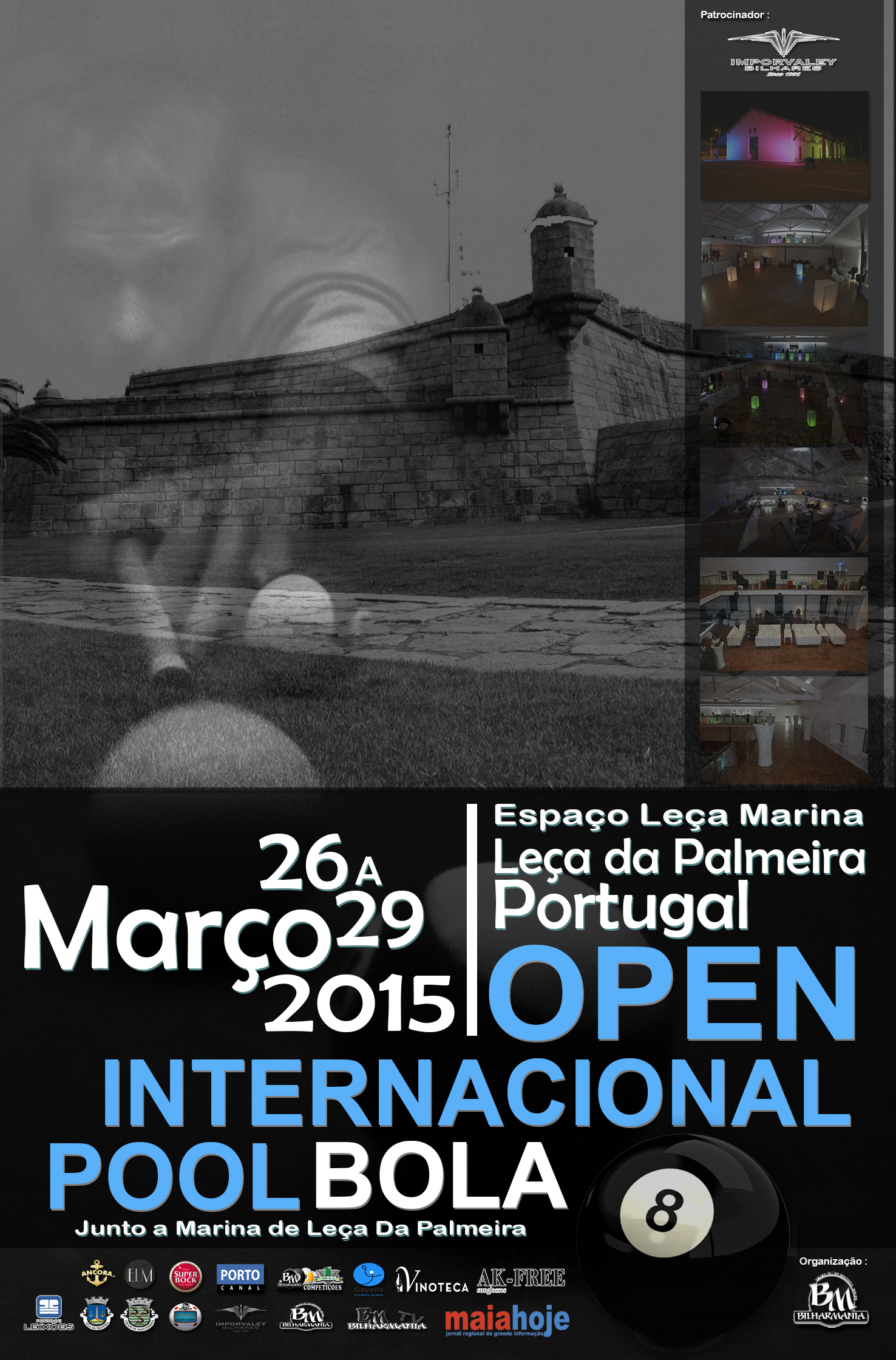 Open internacional de pool Cartaz FINAL