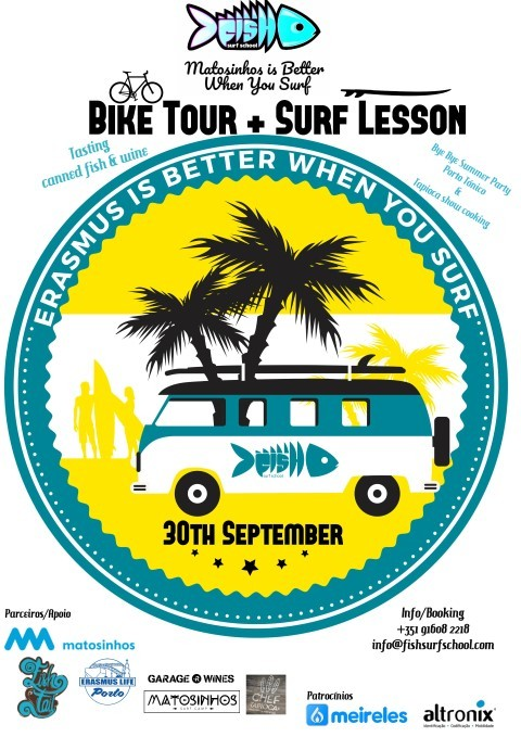 "Fish Surf School / ""Matosinhos is Better When You Surf"""